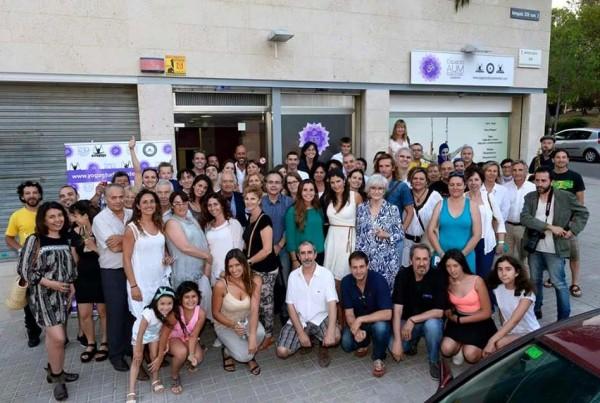 Inauguracion AUM Yoga Studio
