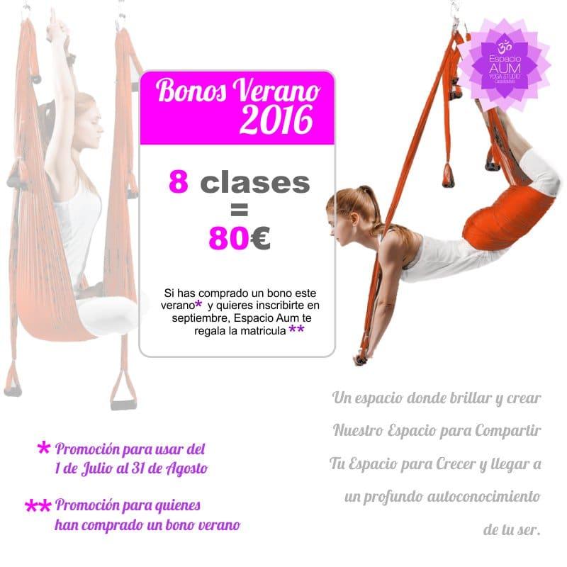Bonos verano espacio aum yoga studio castelldefels - Espacio para el yoga ...