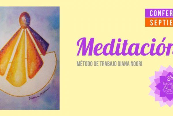 Conferencia Meditacion Septiembre - Espacio Aum Yoga Studio Castelldefels