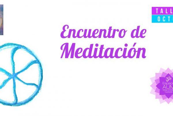 Encuentro meditación Octubre