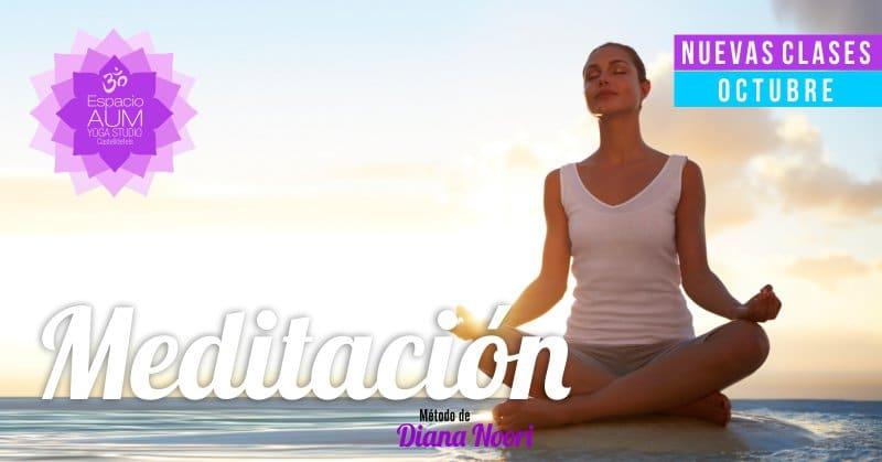 Meditacion - Espacio AUM Yoga Studio Castelldefels