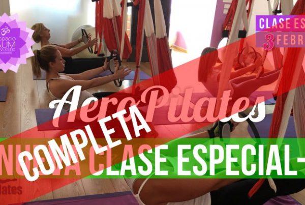 Clase especial - Aeropilates