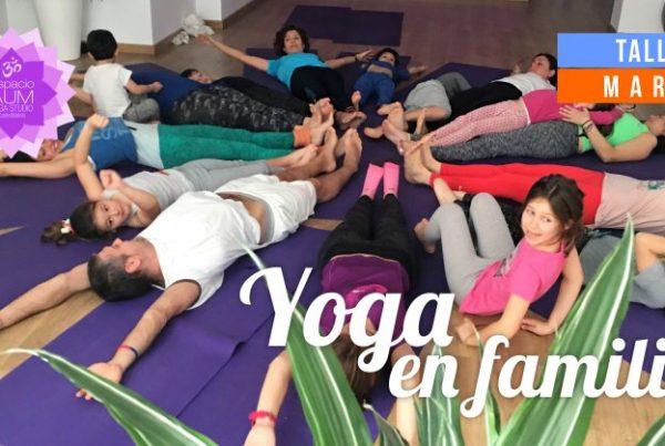 Yoga en familia - Espacio Aum Yoga Studio Castelldefels