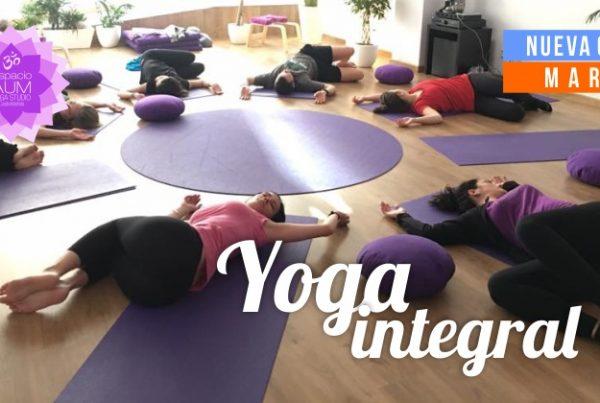 Yoga integral - Nueva clase - Marzo