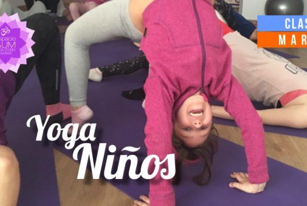 Yoga niños - Clases - Marzo