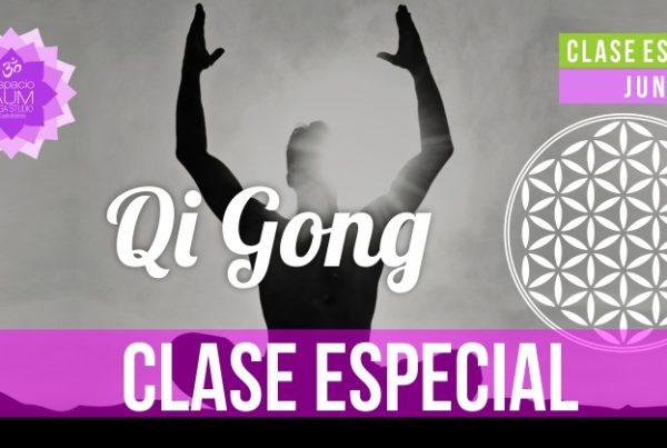 Clase especial - Qi Gong - Espacio Aum Yoga Studio - Castelldefels