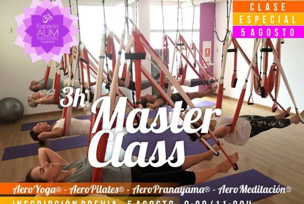 MASTER CLASS - 5 AGOSTO - Espacio Aum Yoga Studio Castelldefels