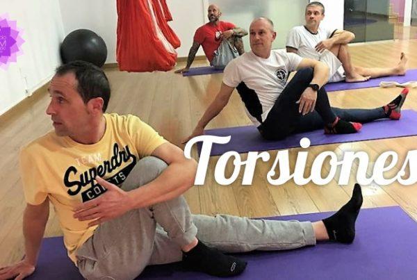 Torsiones - Area salud - Espacio Aum Yoga Studio Castelldefels