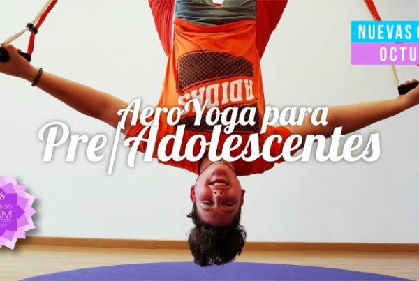 AeroYoga Pre y Adolescentes - Espacio AUM Yoga Studio Castelldefels