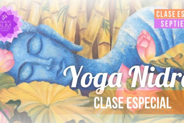 Yoga Nidra - Clase especial - Espacio Aum Yoga Studio Castelldefels
