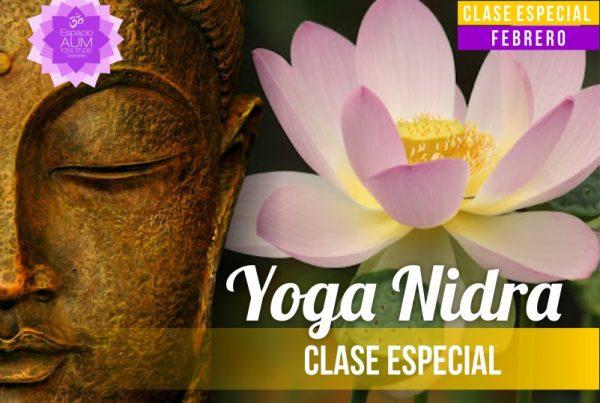 Clase Especial -Yoga Nidra - Febrero 2018 - En Espacio Aum Yoga Studio Castelldefels