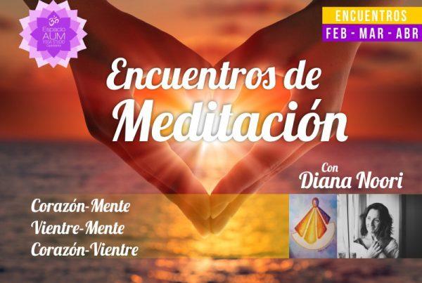 Encuentros de Meditación - Febrero 2018 - En Espacio Aum Yoga Studio - Castelldefels