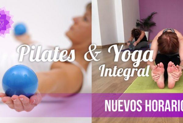 Pilates y Yoga Integral - Enero 2018 - En Espacio Aum Yoga Studio - Castelldefels