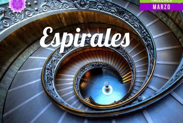 Espirales - Viernes de Creatividad - Marzo 2018 - En Espacio Aum Yoga Studio Castelldefels