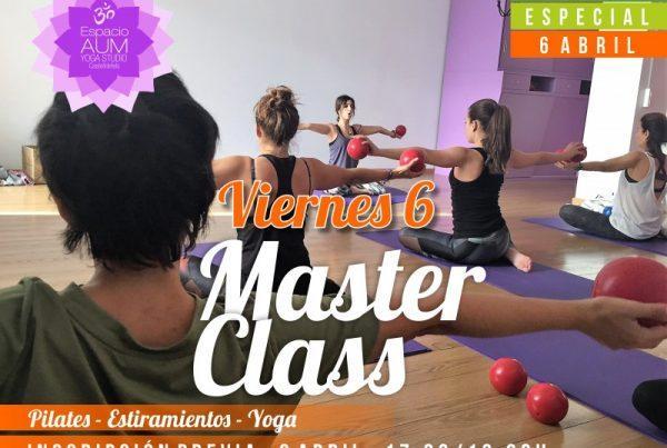 MASTER CLASS y semana santa suelo- 6 ABRIL 2018