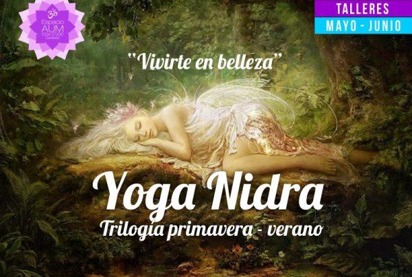 Taller -Yoga Nidra - Trilogia - Mayo - Junio 2018 - En Espacio Aum Yoga Studio Castelldefels
