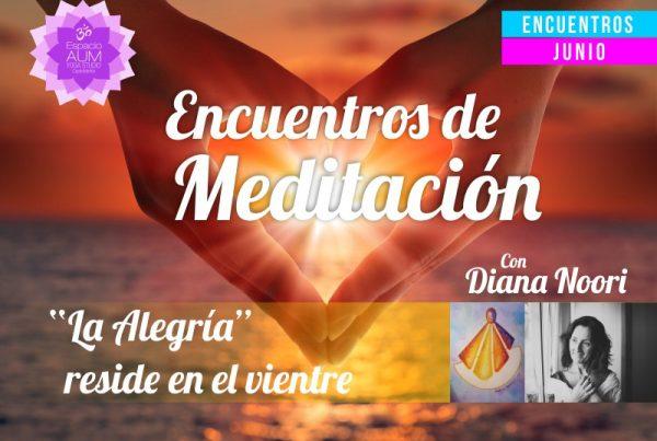 Encuentros de Meditación - Junio 2018 - En Espacio Aum Yoga Studio - Castelldefels