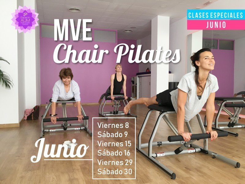 Especial MVE Chair Junio 2018 - En Espacio Aum Yoga Studio - Castelldefels