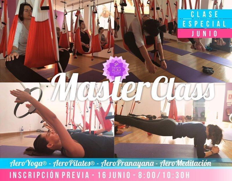 MASTER CLASS Junio 2018 en Espacio AUM Yoga Studio Castelldefels