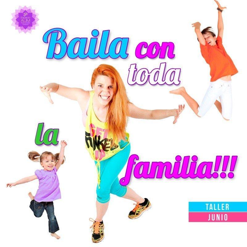 TALLER - BAILE EN FAMILIA-Junio 2018 - En Espacio Aum Yoga Studio - Castelldefels