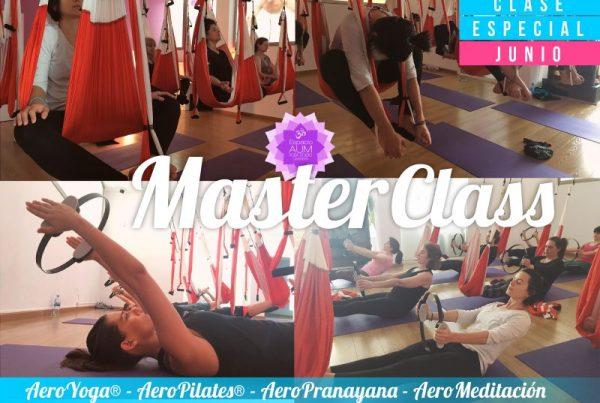 MASTER CLASS 30 Junio 2018 - Espacio Aum Yoga Studio Castelldefels