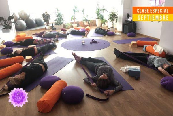 Yin Yoga - Clase Especial - Septiembre 2018 - En Espacio Aum Yoga Studio - Castelldefels