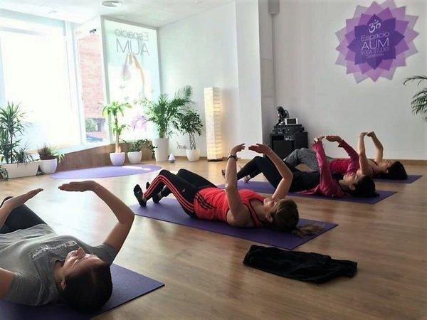 Recuperación Postparto con Hipopresivos - Octubre Noviembre y Diciembre 2018 - En Espacio Aum Yoga Studio - Castelldefels 1