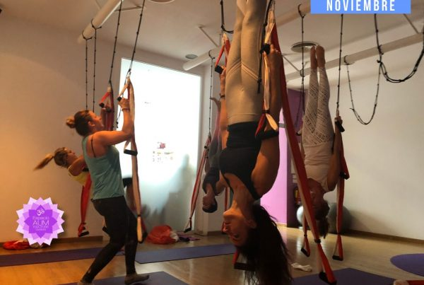 AeroPilates Intensive Noviembre 2018 - En Espacio Aum Yoga Studio - Castelldefels