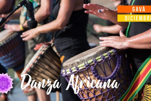 Danza Africana - Diciembre 2018 - En Espacio Aum Gavà Yoga Studio