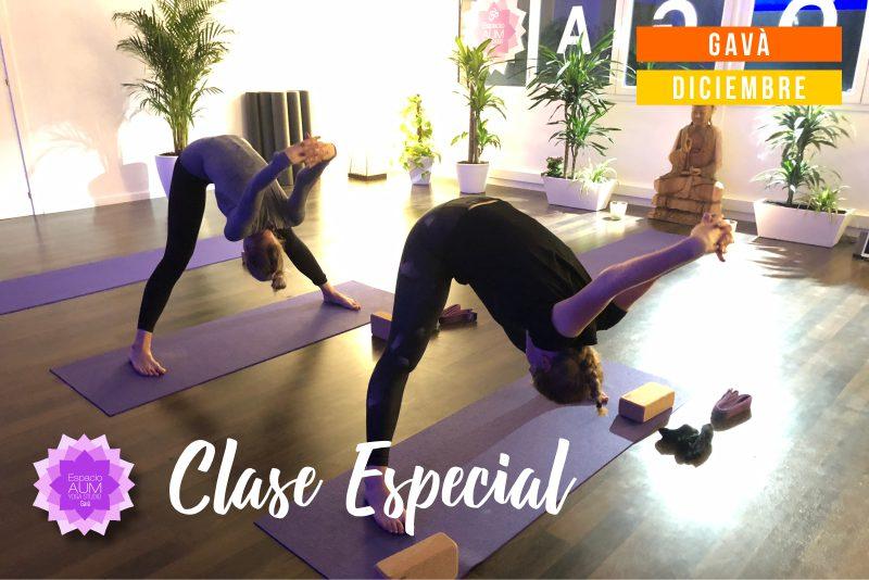 Diciembre 2018 Vinyasa Yoga Gava - En Espacio Aum Yoga Studio