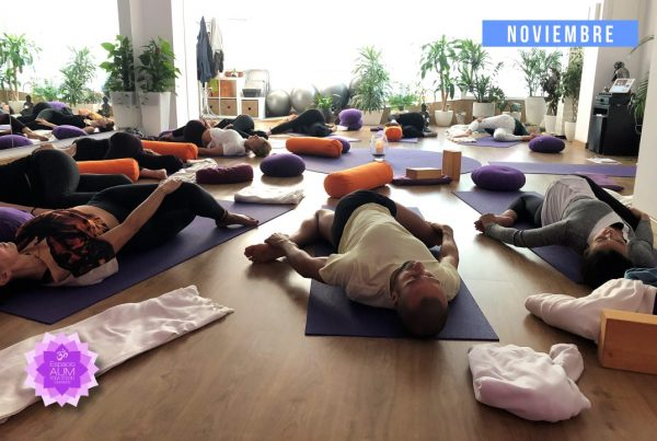 Yin Yoga - Noviembre 2018 - En Espacio Aum Yoga Studio - Castelldefels