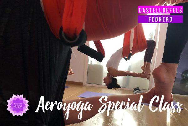 Aeroyoga Special Class - Castelldefels Febrero - Espacio Aum Castelldefels y Gavà - Yoga Studio