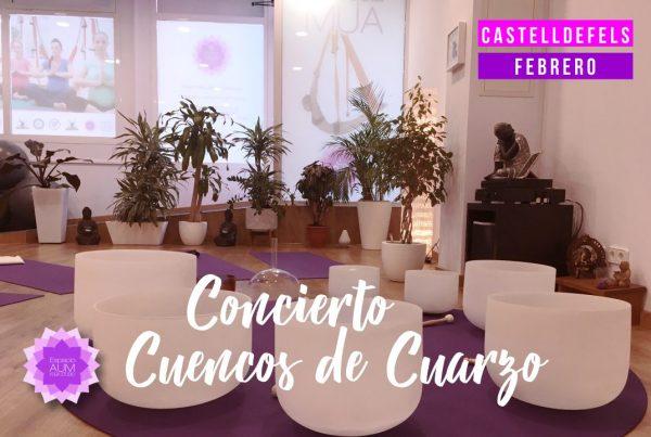 Concierto de Cuencos de Cuarzo - Espacio Aum Castelldefels y Gavà - Yoga Studio