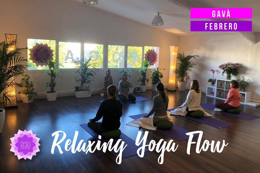 Relaxing Yoga Flow - Gavà - Espacio Aum Castelldefels y Gavà - Yoga Studio