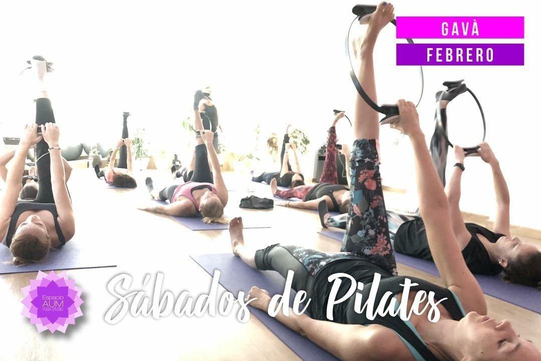 Sábados De Pilates En Gavà Febrero 2019 Espacio Aum Yoga Studio Castelldefels