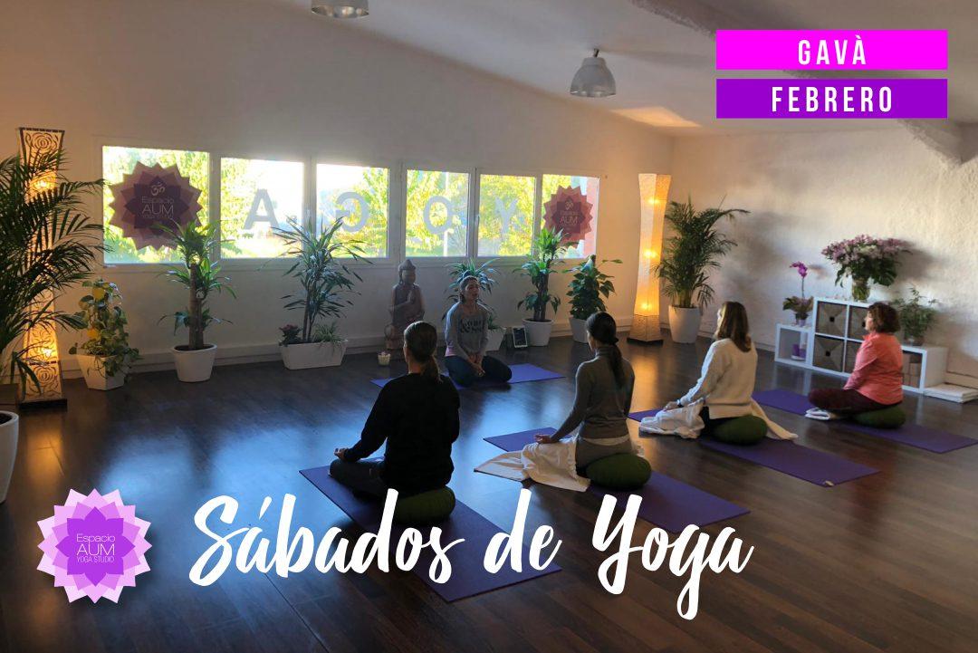 Sábados de Yoga en GAVA - Gavà - Espacio Aum Castelldefels y Gavà - Yoga Studio