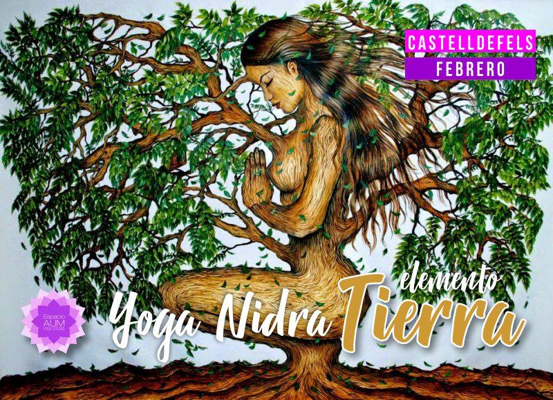 oga Nidra - Elemento Tierra - Espacio Aum Castelldefels y Gavà - Yoga Studio