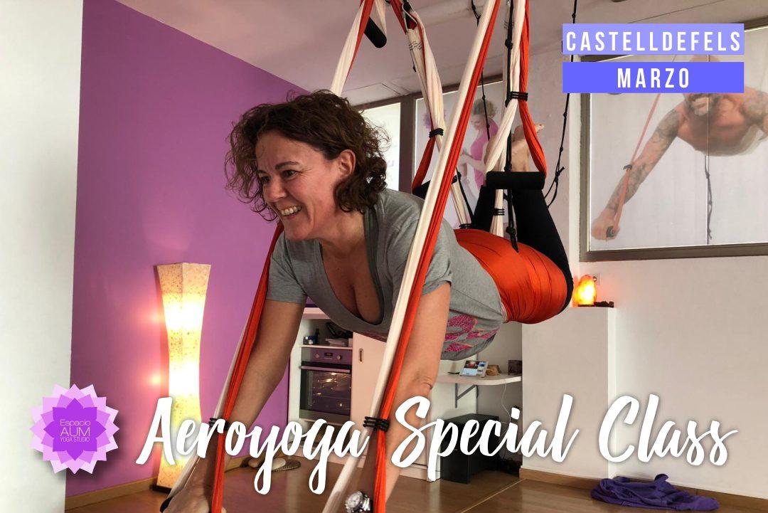 Aeroyoga Special Class - Marzo - 2019Espacio Aum Castelldefels y Gavà - Yoga Studio