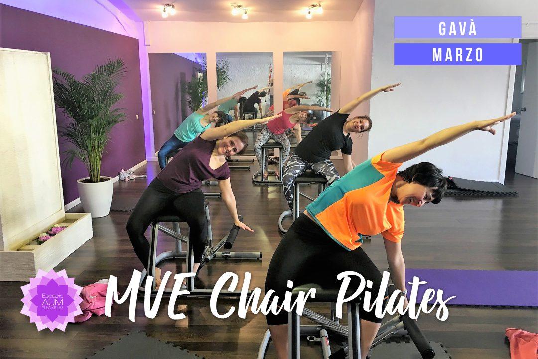 MVE Chair Pilates - Espacio Aum Castelldefels y Gavà - Yoga Studio