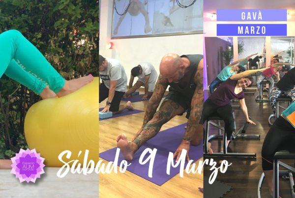 Sábado 9 de Marzo en Gavà - Espacio Aum Castelldefels y Gavà - Yoga Studio