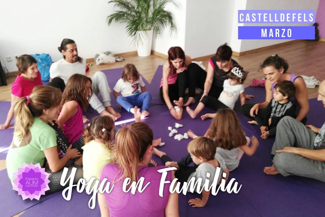 Yoga en Familia - Olga Benedicto - Espacio Aum Castelldefels y Gavà - Yoga Studio