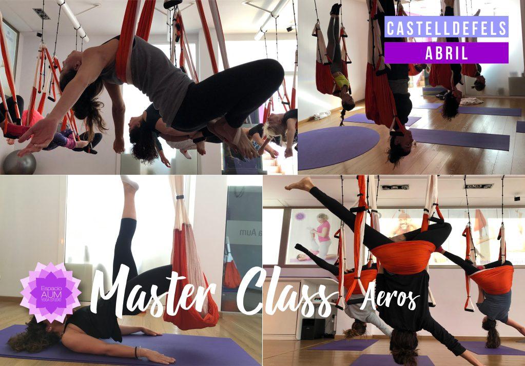 Master Class Aeros - Espacio Aum Castelldefels y Gavà - Yoga Studio