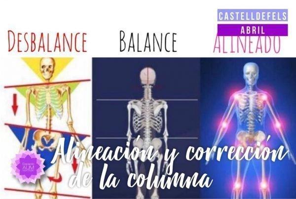 Taller alineacion columna en Espacio Aum Castelldefels y Gavà - Yoga Studio