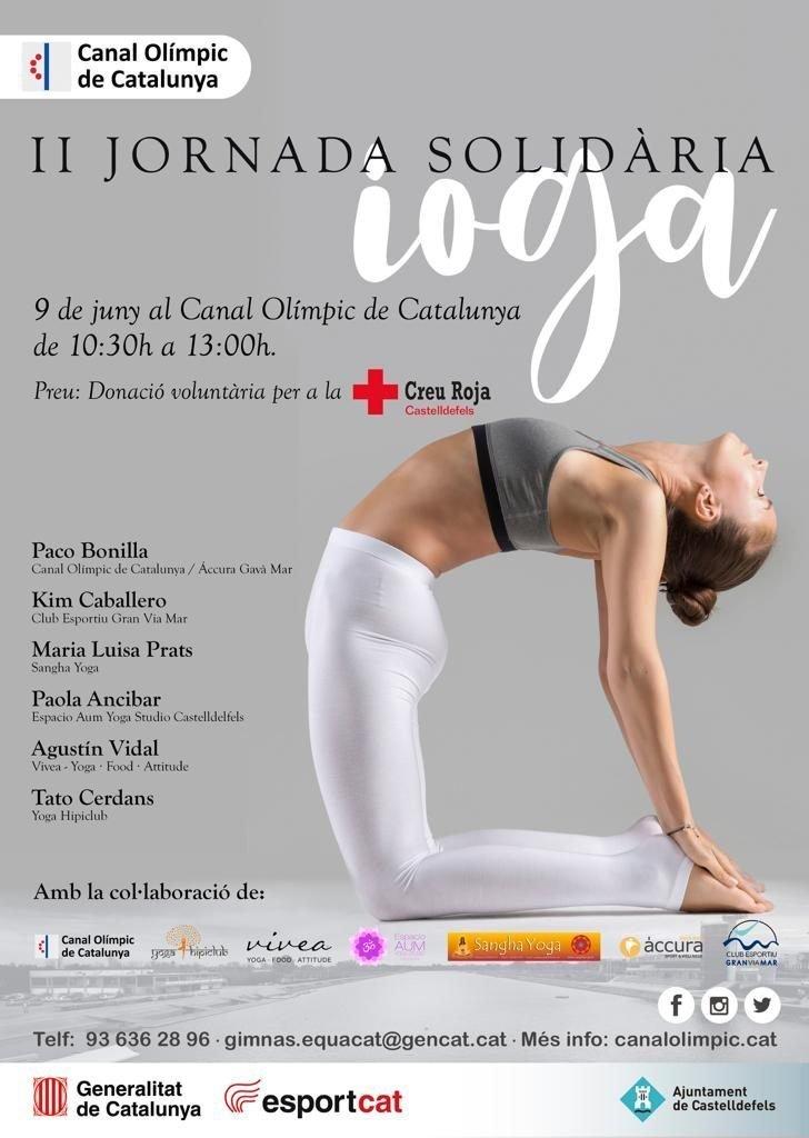 2 Jornada Solidaria de Yoga - Espacio Aum Yoga Studio - Castelldefels y Gava