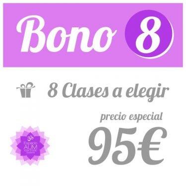 Bono 8 clases - 95 - Precio ahorro