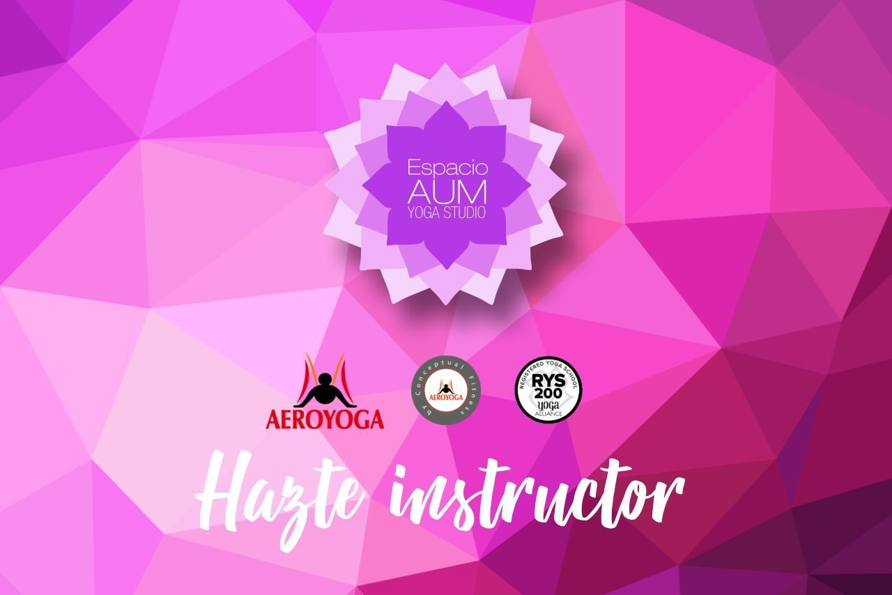Curso de Instructor de Aeroyoga- Espacio Aum Castelldefels y Gavà - Yoga Studio