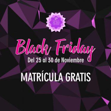 Semana del Black Friday - Noviembre - Espacio Aum Yoga Studio - En Castelldefels y Gavà