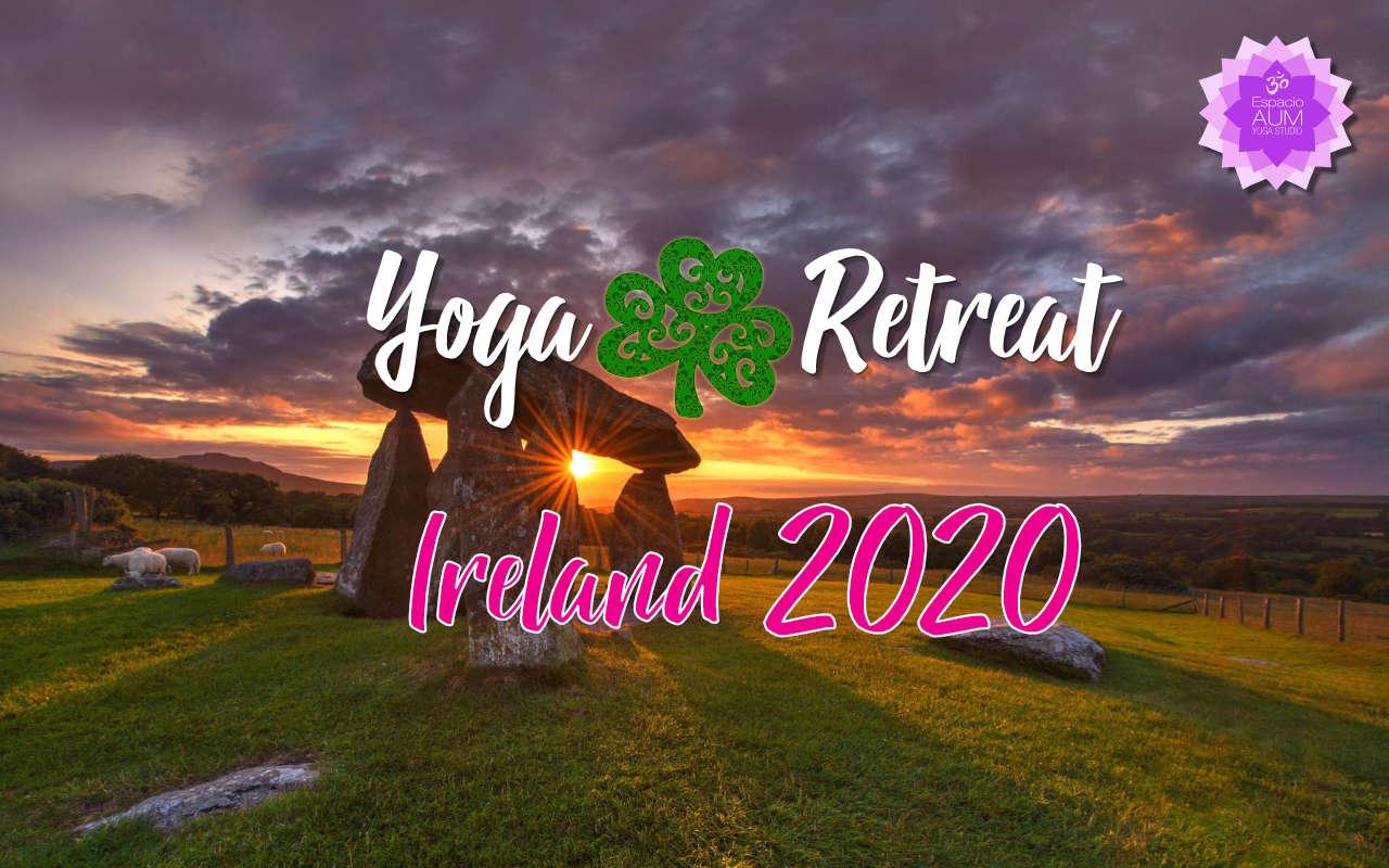 Yoga Retreat - Ireland 2020 - Mayo 2020 - Espacio Aum Yoga Studio - En Castelldefels y Gavà