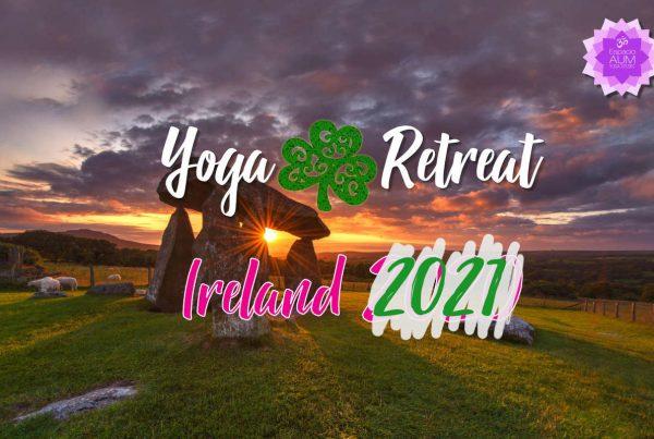 Yoga Retreat - Ireland 2021 - Espacio Aum Yoga Studio - En Castelldefels y Gavà